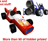 More than 90 of hidden prizes!