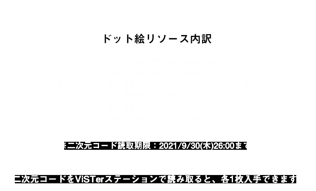 ドット絵リソース内訳
