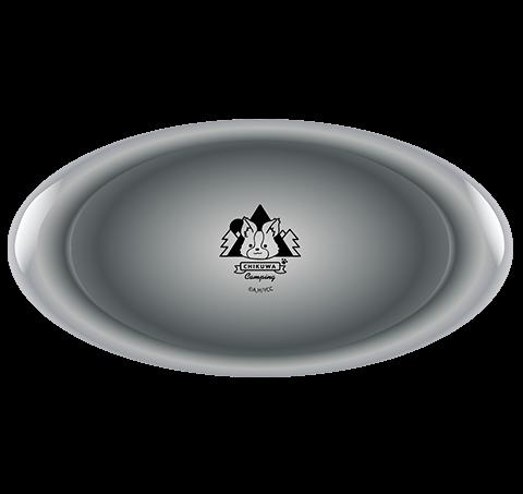 ちくわキャンプ カレー皿