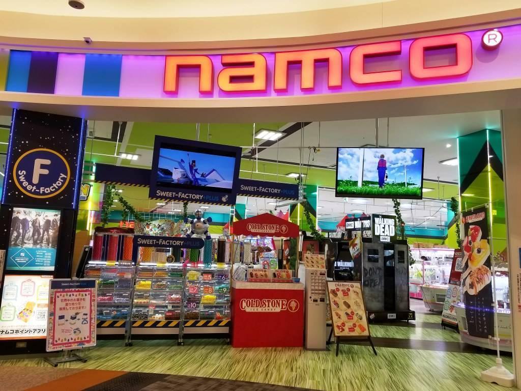 namcoイオンモール各務原店   ゲームセンター   バンダイナムコアミューズメント「夢・遊び・感動」を。