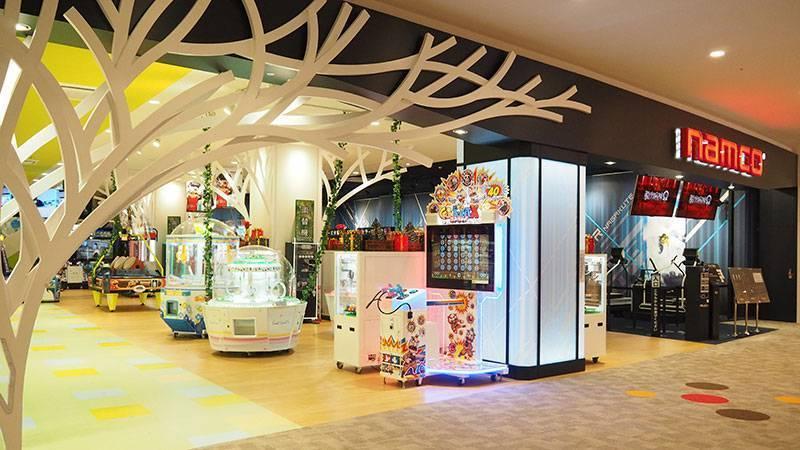 namcoイオンモール長久手店   ゲームセンター   バンダイナムコアミューズメント「夢・遊び・感動」を。