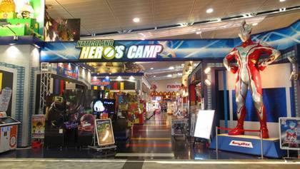 ナムコランド ヒーローズキャンプ名古屋店   ゲームセンター   バンダイナムコアミューズメント「夢・遊び・感動」を。