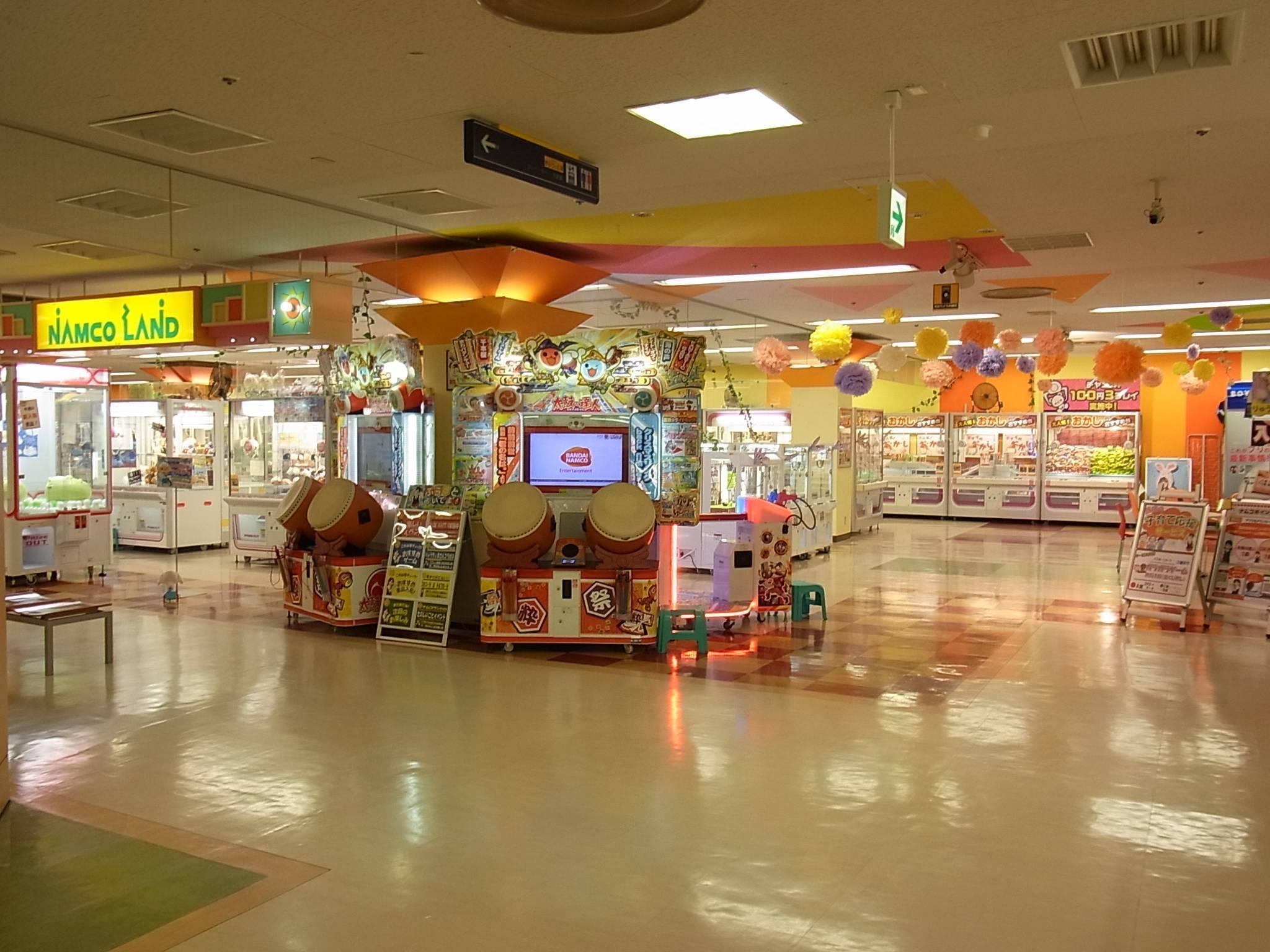 ナムコランドs mall店 施設トップ ゲームセンター バンダイナムコ