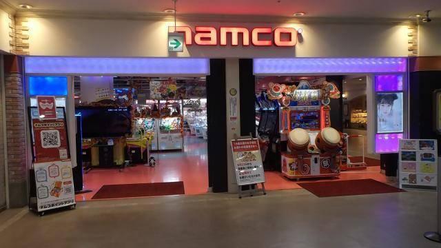 namco横浜ワールドポーターズ店   ゲームセンター   バンダイナムコアミューズメント「夢・遊び・感動」を。